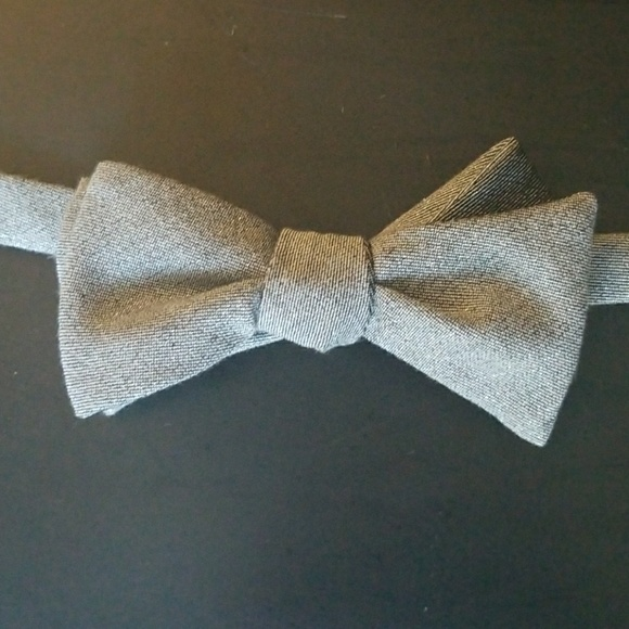 New George Men/'s Silk Adjustable Clip-on Bow Tie In Red